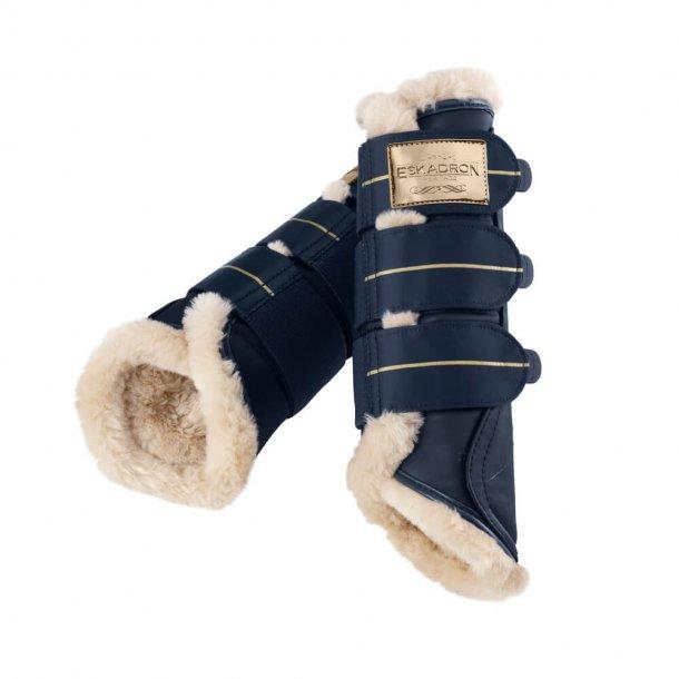Boots Faux Fur - Oxfordnavy
