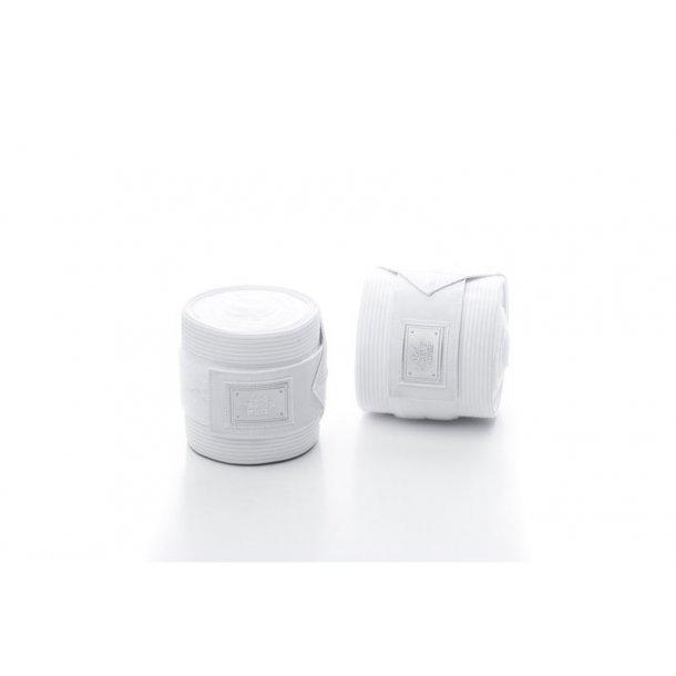 Air 1 bandagesæt Elastik/Fleece Onesize - Hvid